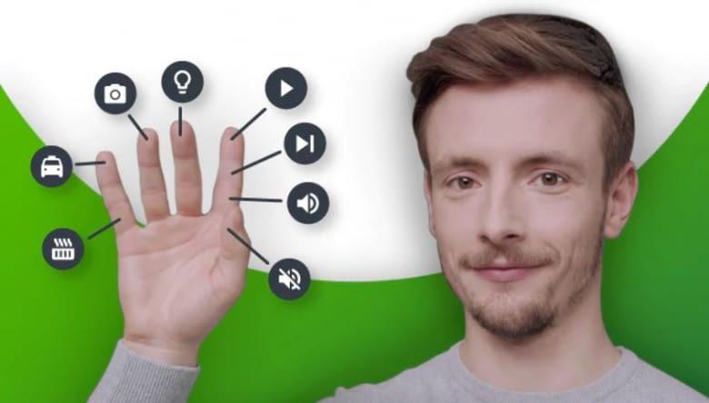 Jedes Fingerglied hat eine bestimmte Funktion