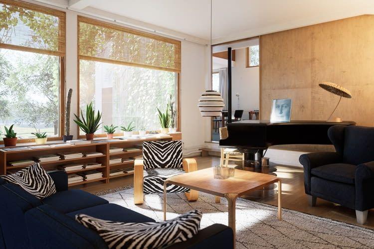 Immobilien lassen sich mit den VR-Modellen von Zoan bereits in der Planung virtuell begehen