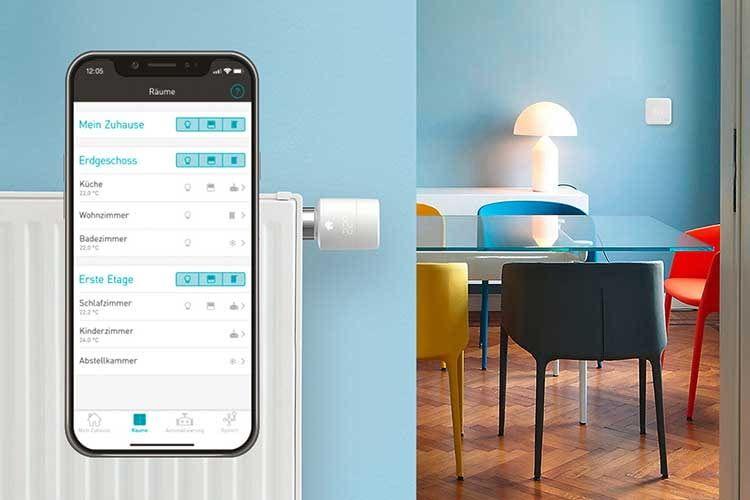 Moderne Thermostate sind einfach per App steuerbar