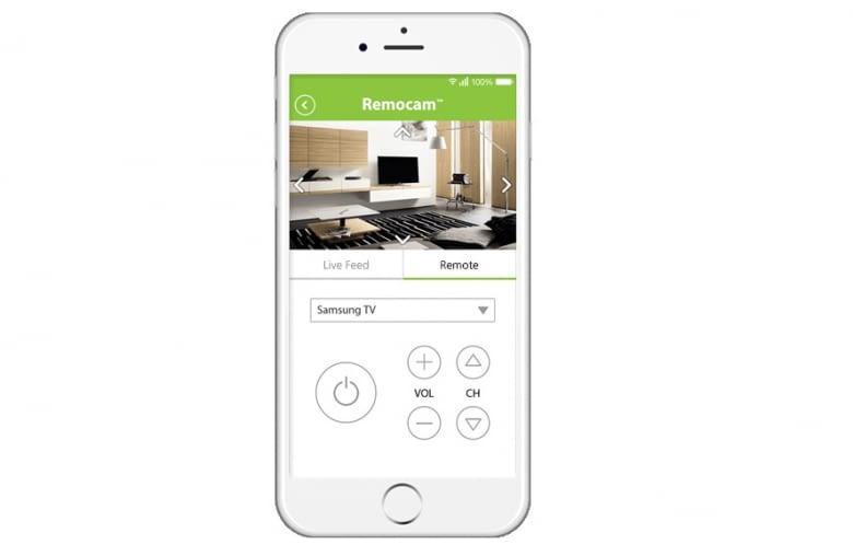 Die Remocam App dient zur Steuerung der Smart Home Cam und des IoT