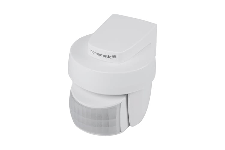 Der Homematic IP Bewegungsmelder für außen ist auch in anthrazit erhältlich
