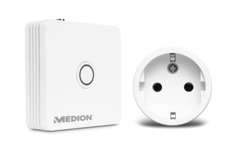 MEDION Smart Home Einsteigerangebot: Smart Home Zentrale und intelligenter Zwischenstecker für knapp 70 Euro