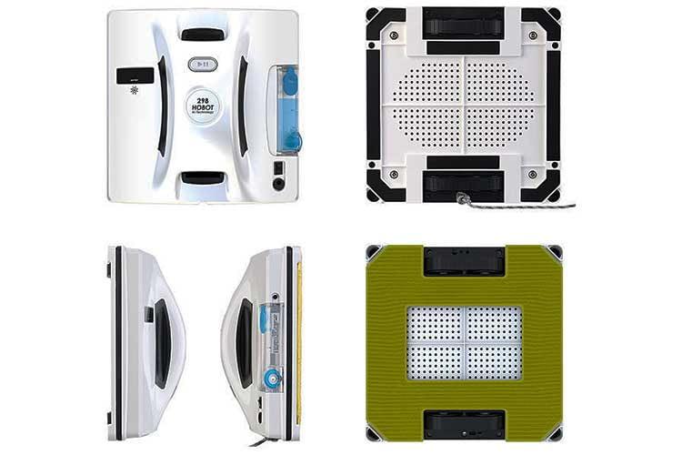 Der Fensterputzroboter Hobot 298 ist gut verarbeitet und wiegt stolze 1,28 Kilogramm