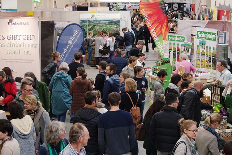 Die Messe Heldenmarkt für nachhaltigen Konsum erfreut sich immer größerer Beliebtheit
