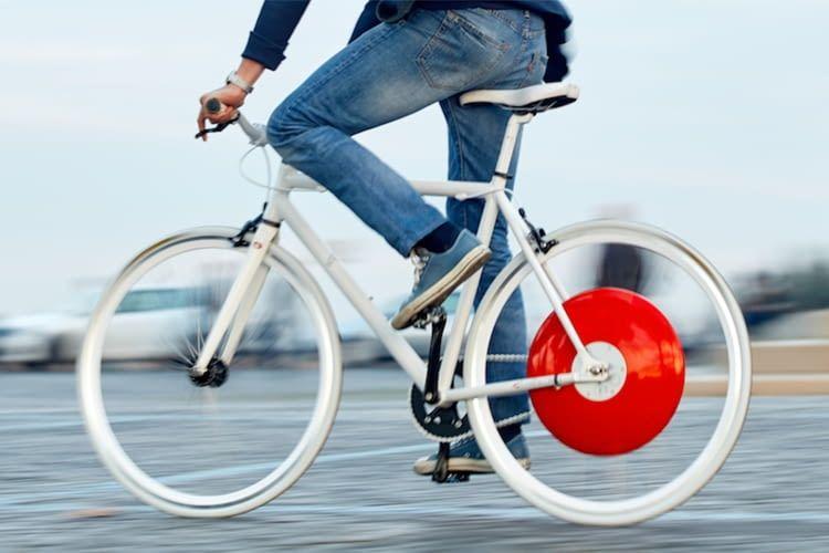 Rekuperation: Copenhagen Wheel lädt beim Bremsen den Akku