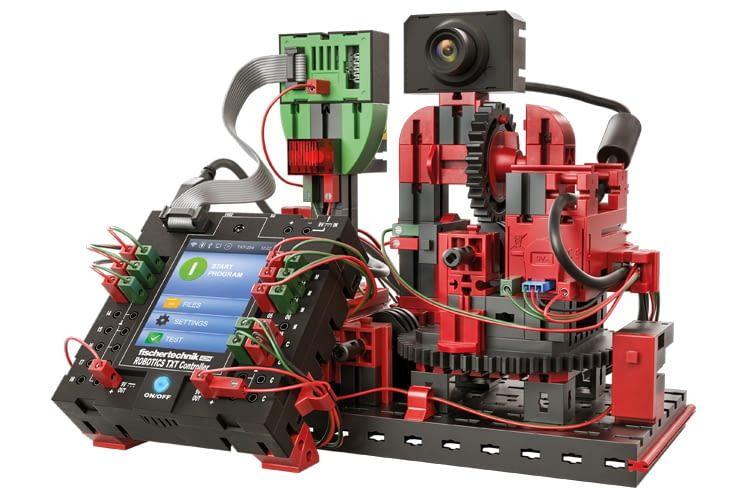Mit dem ROBOTICS TXT Baukasten sind richtige Smart Home-Anwendungen möglich