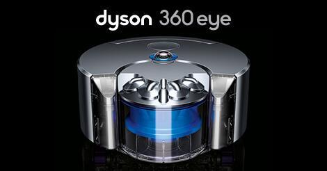 Abbildung des dyson 360 eye Staubsaugroboter