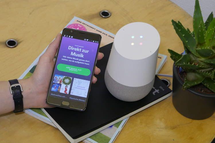 Weihnachten mit h&s: Direkt über Google Home abspielen