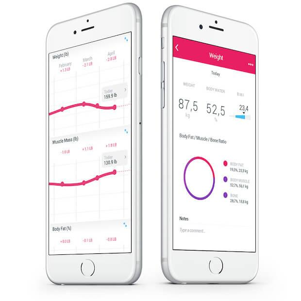 Withings Body Cardio App - Bluetooth und WiFi