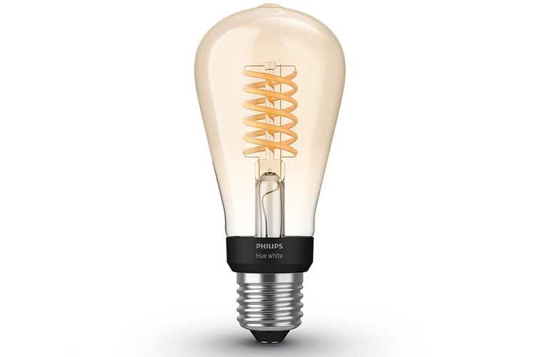 Philips Hue White Filament Leuchten sorgen für einen Retro Look im eigenen zu Hause