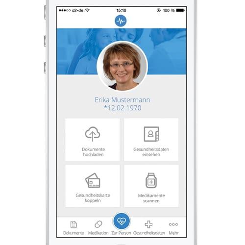 Patienten können ihre Gesundheitsdaten ebenfalls per App einsehen