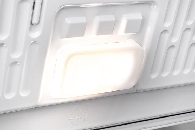 Die Innenbeleuchtung ist vor allem in Kellerräumen praktisch