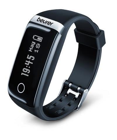 Beurers Fitnesstracker AS87 spürt das Smartphone auf