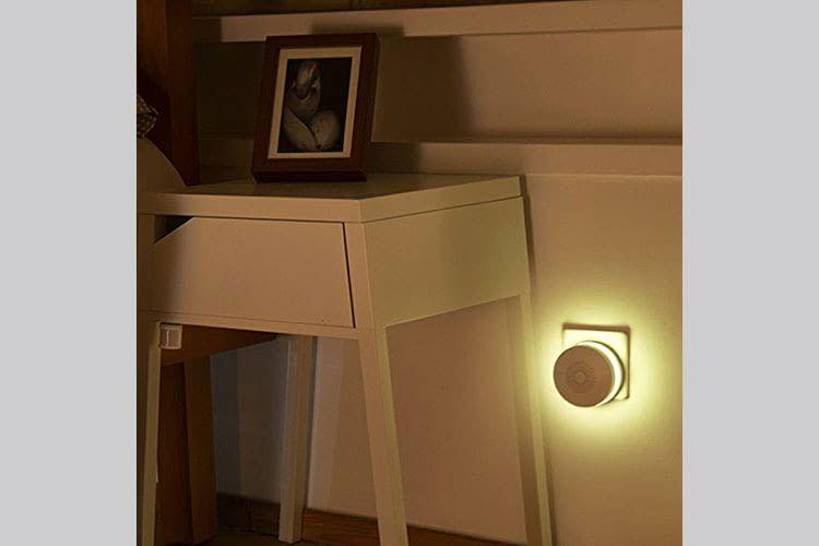 Das Gateway kann auch als (buntes) Nachtlicht oder Radio genutzt werden