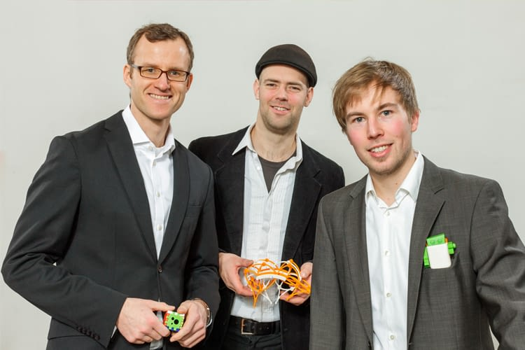 Die Gründer von TinkerToys freuen sich über weitere Partner und Investoren