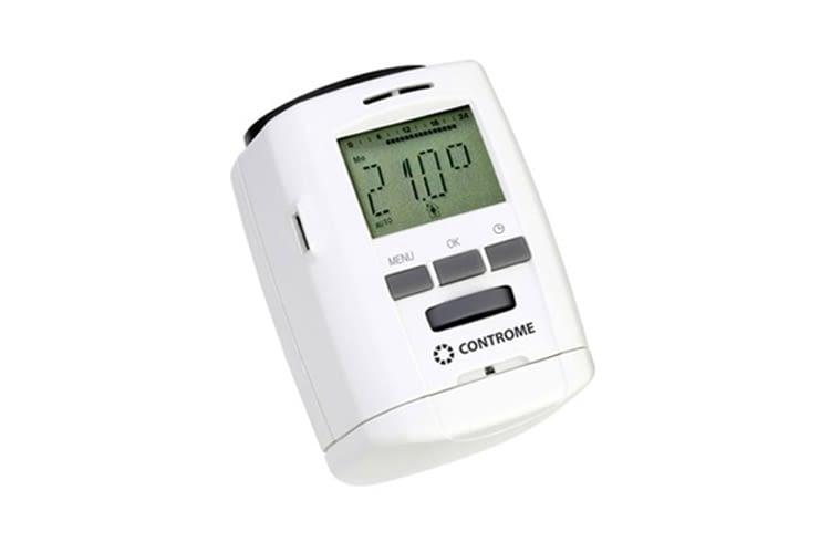 Elektronischer Heizkörperthermostat von Controme für die clevere Hausautomation