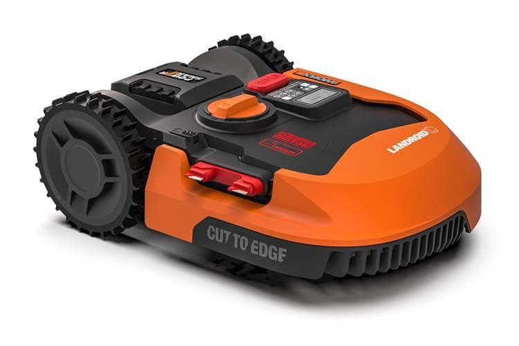 Der Mähroboter WORX Landroid L2000 WR155E lässt sich nachträglich um neue Funktionen erweitern