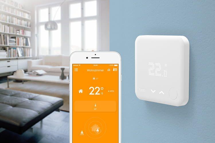 Intelligente Wandthermostate sind per App oder Smartphone steuerbar