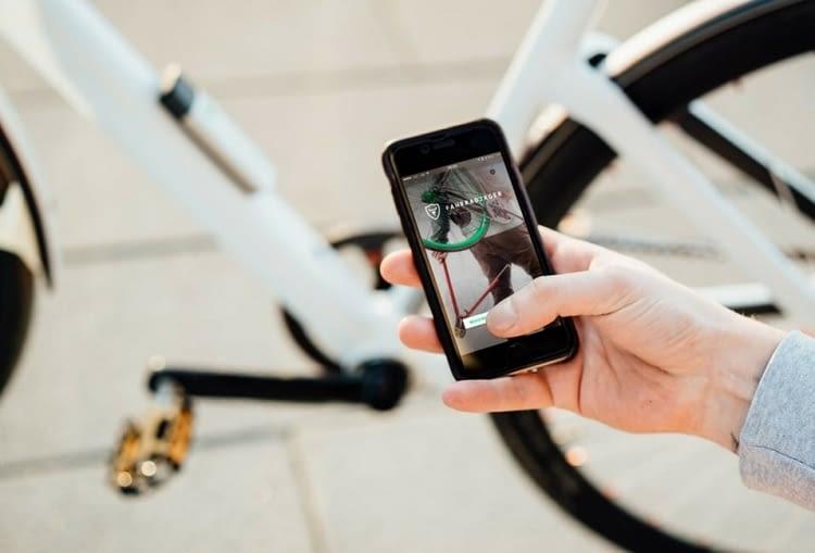 Über die FahrradJäger-App können auch Finderlöhne ausgeschrieben werden