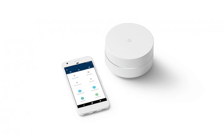 Google Wifi mit Smartphone App