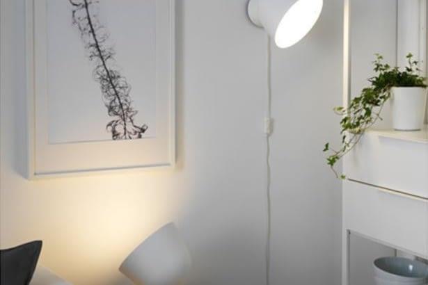 PS 2017 IKEA-Stehleuchte für Philips Hue E14 LED-Birne