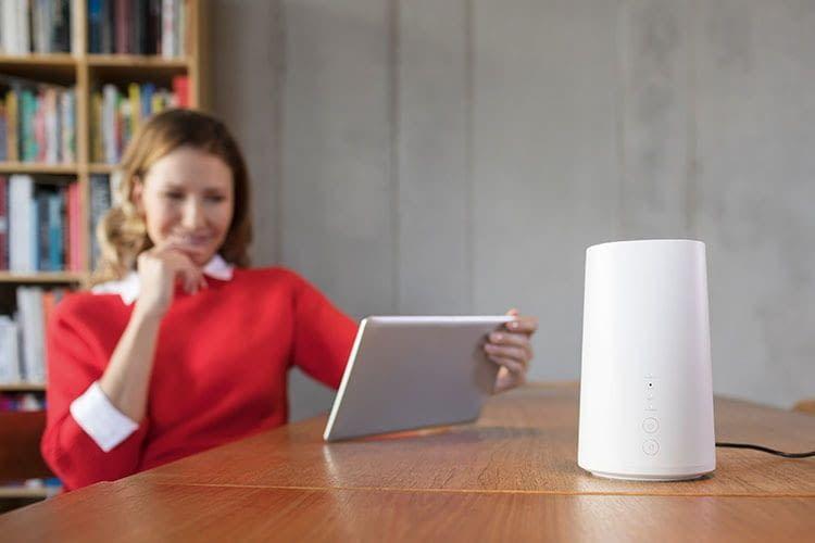 Vodafone LTE Tarif GigaCube Max bringt schnelles Internet ins Zuhause