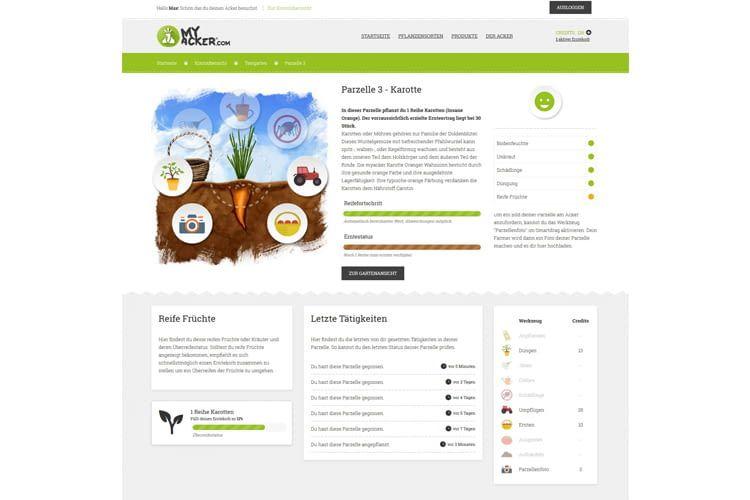 MyAcker verbindet über seine Website Landwirte mit privaten Gartenfans