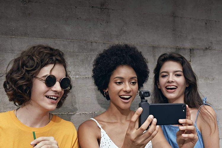 Die DJI Mimo Smartphone App stellt viele Bearbeitungswerkzeuge für OSMO POCKET-Video bereit
