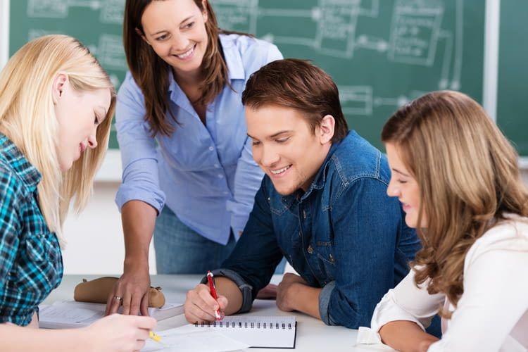 Die Online-Nachhilfe ist in Deutsch, Englisch und Mathe möglich