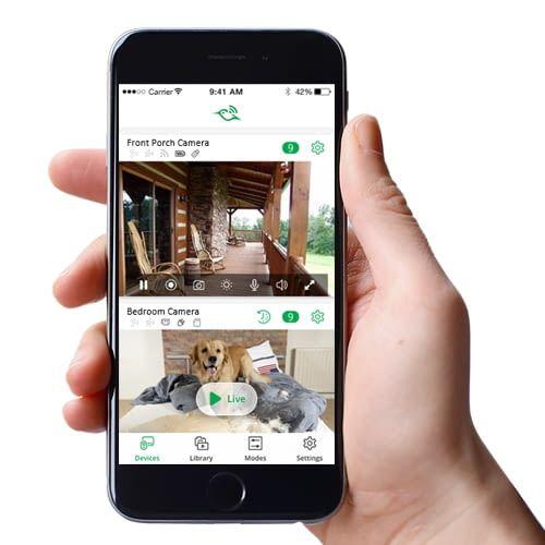 Netgear Arlo Q Plus: Überwachung per App