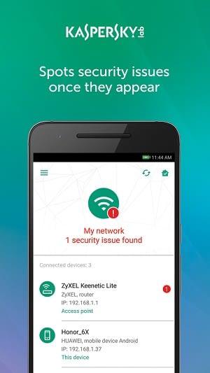 Der Kaspersky Smart Home & IoT Scanner ist der Wachhund für unser IoT-Netzwerk