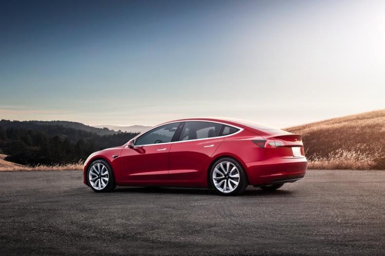 Platz Nummer 2 im Reichweiten Vergleich: Tesla Model 3