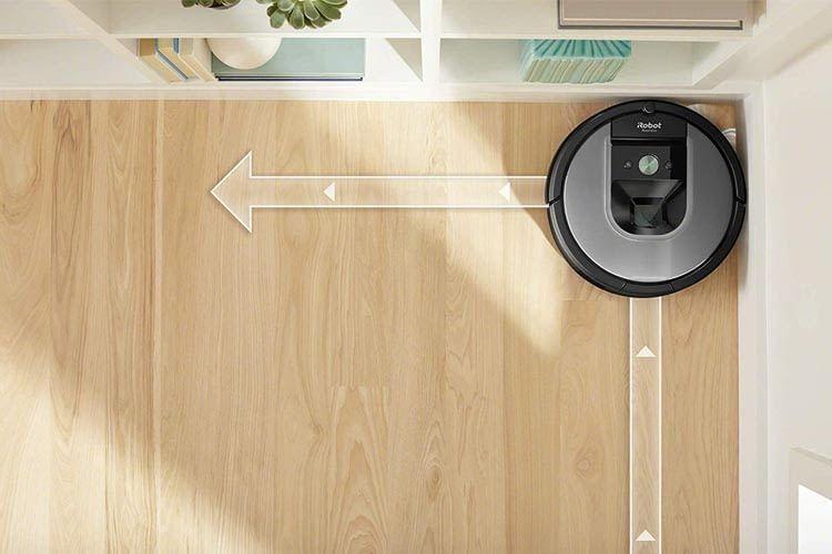 Roomba orientiert sich über verschiedene Sensoren