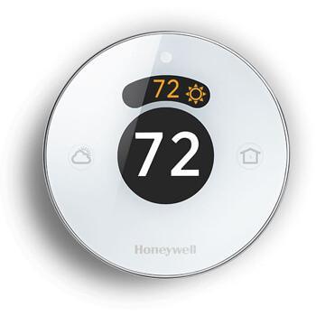 Abbildung vom Honeywell Lyric Thermostat mit Geofencing für das Smart Home