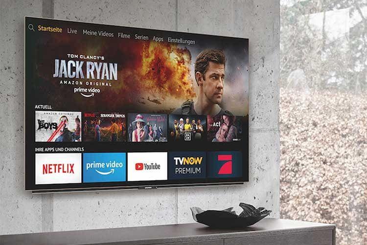Der Smart TV Grundig OLED Fire TV hat ein Gehäuse aus Aluminium und bietet ein 3-Wege-Lautsprechersystem mit Subwoofer
