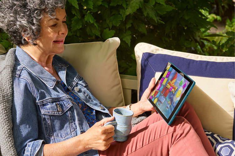 Das FireHD10-Tablet bietet einen enorm großen Funktionsumfang