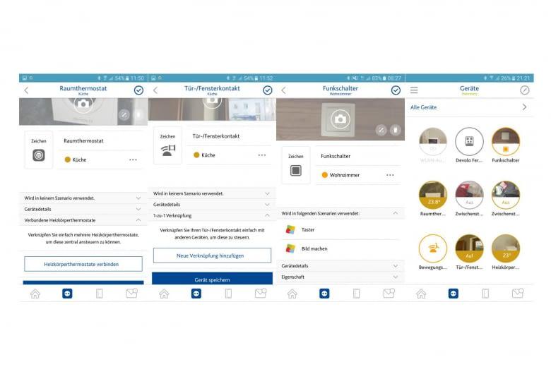 Für jedes Gerät lässt sich in der EWE App ein Name und ein Bild hinzufügen