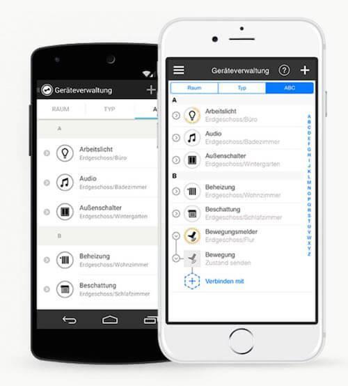 wibutler app für iOS und Android