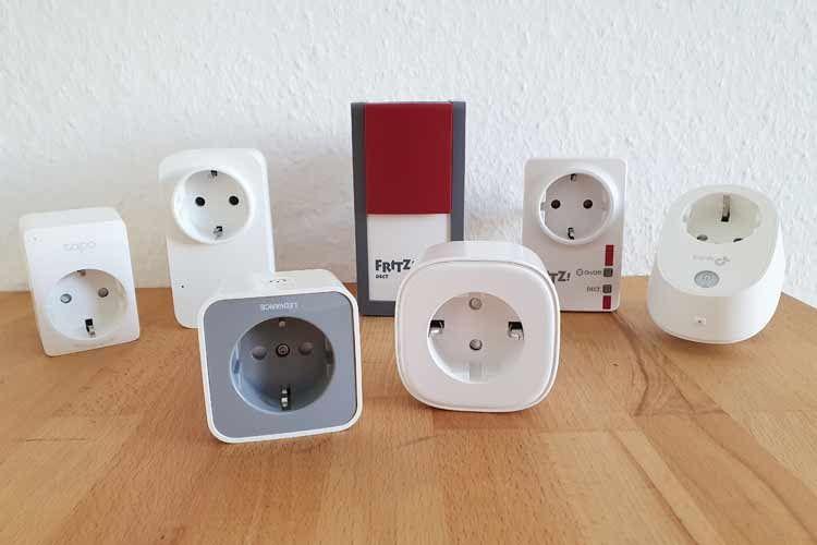 Hier sind einige der Alexa Steckdosen zu sehen, die wir bereits getestet haben