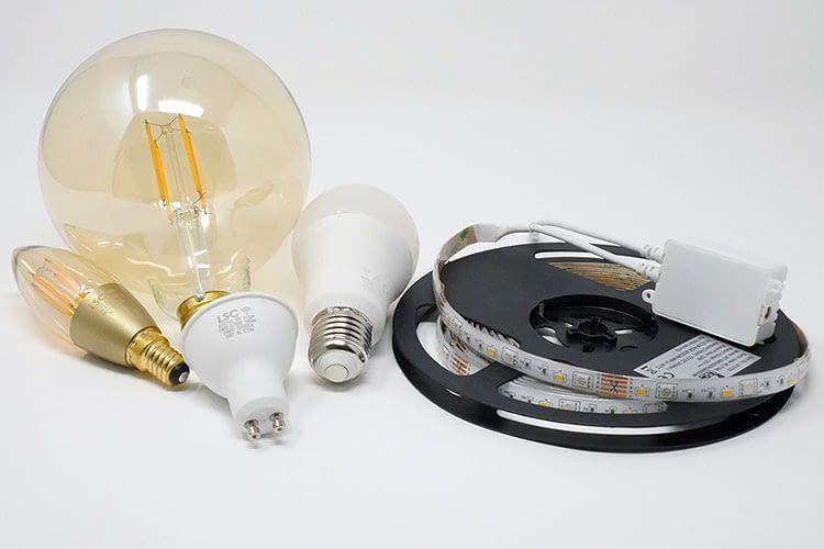 Das Smart Home System LSC Smart Connect bietet eine gute Auswahl an smarten Leuchtmitteln