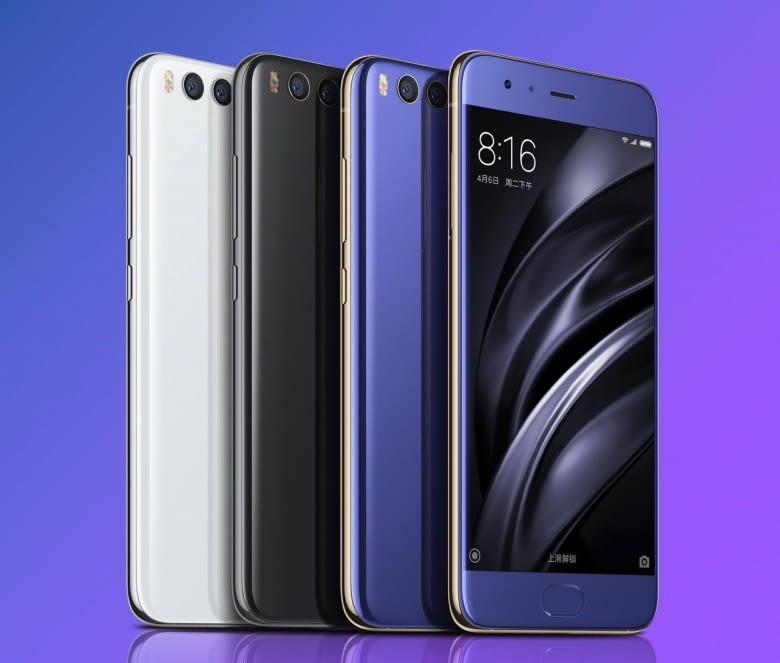 Das Xiaomi Mi 6 ist Ende April im chinesischen Handel erhältlich