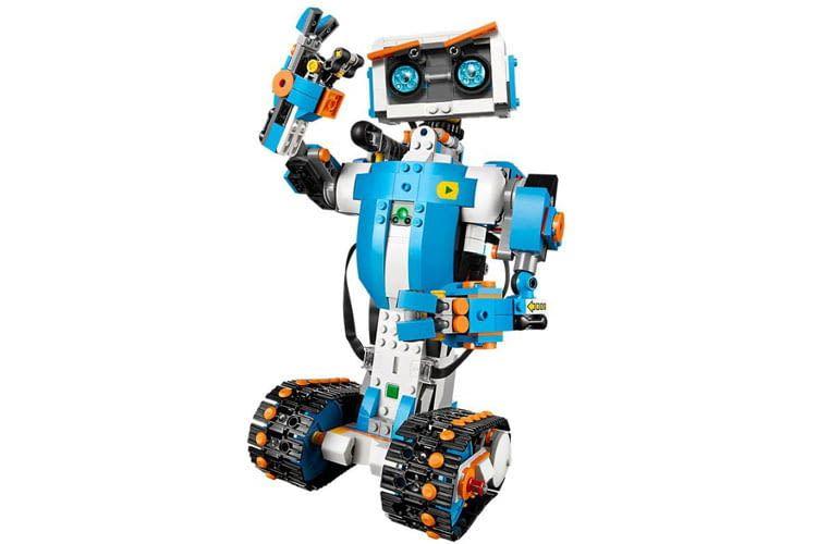 Der LEGO Roboter Vernie erfreut sicherlich viele Kinderherzen mit seinen vielen Funktionen