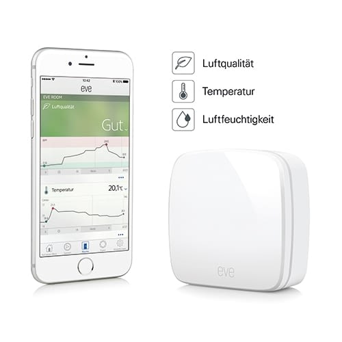 Elgato Eve Room - Raumsensor für Ihr HomeKit Smart Home System