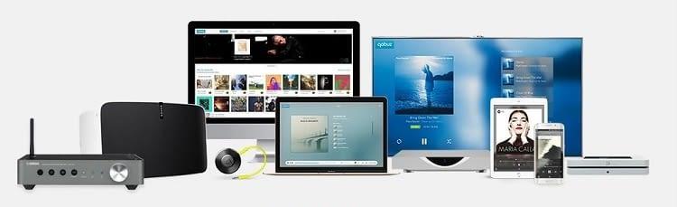 Qobuz läuft mobil, auf dem Desktop und etwa mit Sonos im Smart Home