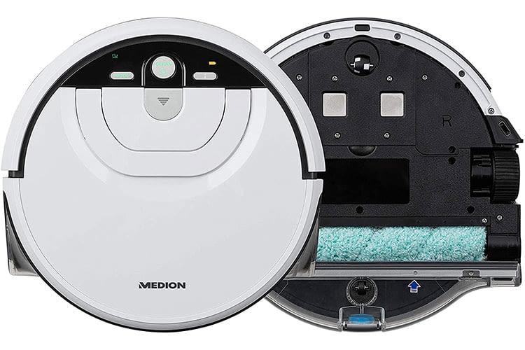 Für die Nassreinigung nutzt der Medion MD 18379 kein Tuch, sondern hat eine Walze eingebaut