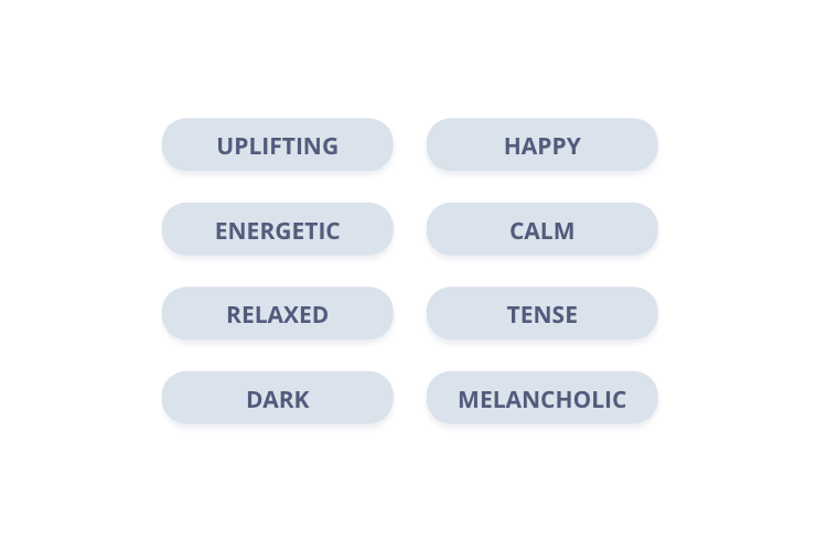 Die Cyanite PLAY App kann passende Musik zur Stimmungslage finden