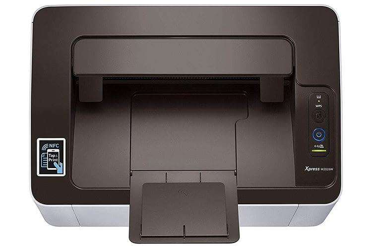 Der Mono-Laserdrucker Samsung Xpress SL-M2026W beeindruckt mit kompakten Bauweise