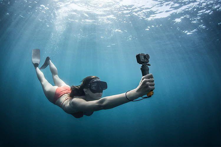 Actioncams ermöglichen auch unter Wasser spektakuläre Aufnahmen