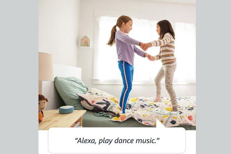 Alexa lernt dank Cloudanbindung täglich dazu und sorgt für individuelles Entertainment