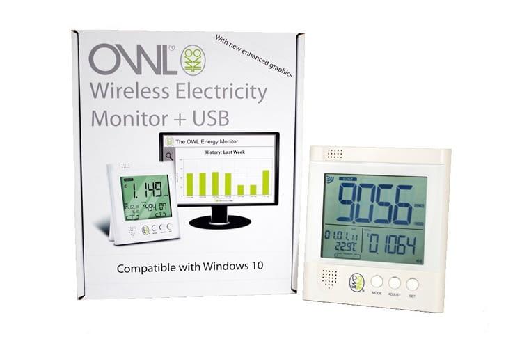 Der OWL Energiemonitor ist eine günstige Nachrüstlösung
